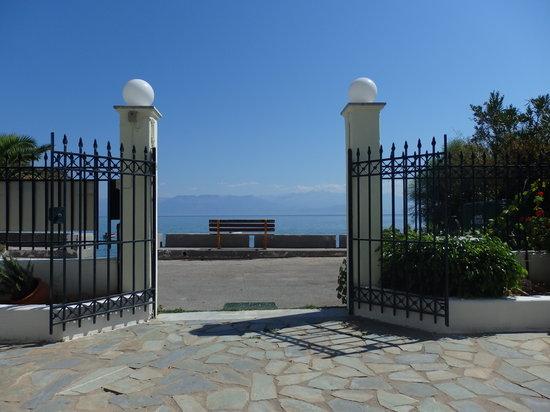 Iris Apartments: Entrance
