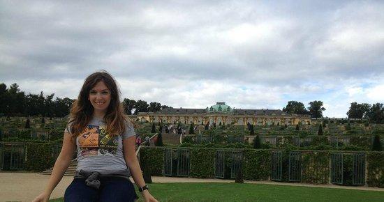 Potsdam's Gardens : Sanssouci Palace!