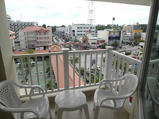 MANATHAI Hua Hin: Balcony of the room # 709