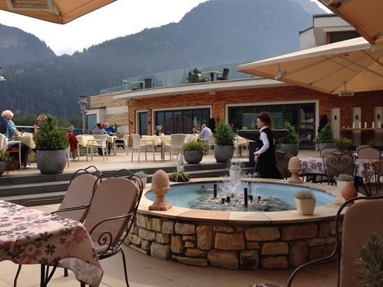 Stock Resort: Terrasse