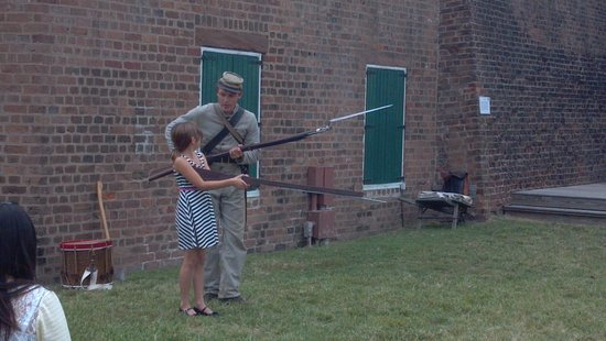 Old Fort Jackson: Ready to shoot?