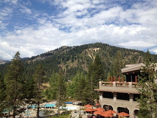 Resort at Squaw Creek: the view from my window