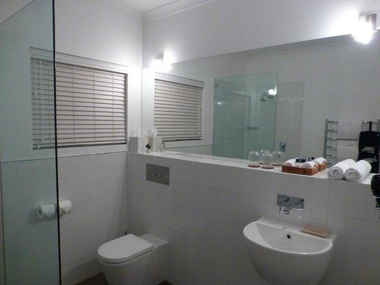 Llewellin's Guest House: Bathroom in the Garden Room