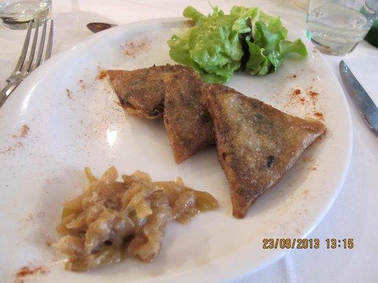Le Saint Sebastien : Croustillants de pied de porc