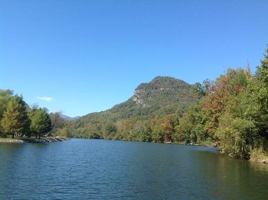 Hampton Inn Hendersonville: Lake Lure NC