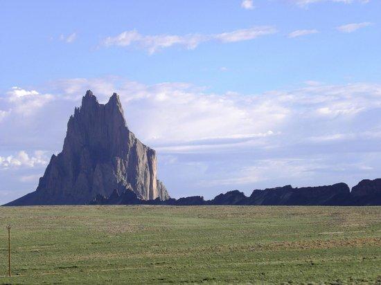 Shiprock Rock Formation: Shiprock