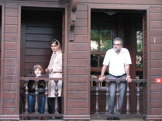 Butik Ada Hotel: balcony