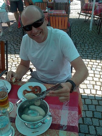 Hotel Alte Post : Deliciosa comida,servicio pésimo