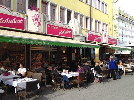 Cafe Schubert: Facade