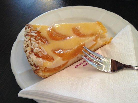 Cafe Schubert: Tarte abricot