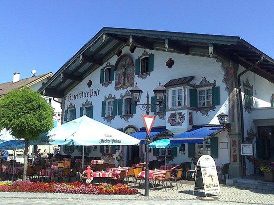 Hotel Alte Post : Ubicacion perfecta en el centro