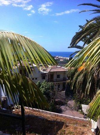 Hotel Jardin Concha: Vue depuis la terrasse de l'hôtel où il est possible de prendre le petit déjeuner
