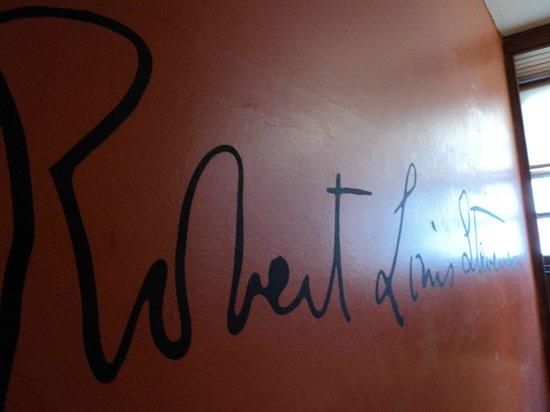Writers' Museum: Signature