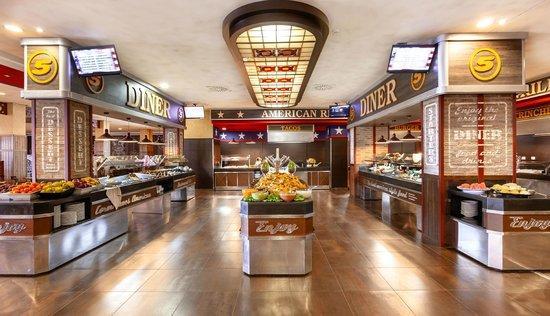Punta Umbria, Spain: Restaurante Buffet Americano Cormoranes