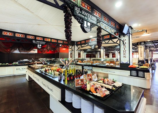 Punta Umbria, Spain: Restaurante Buffet d e Mercado El Estero