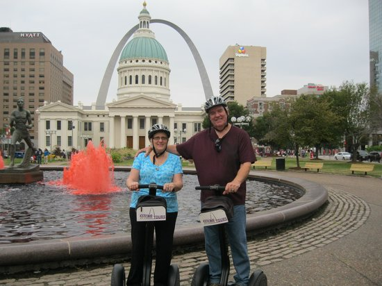 Glide St Louis Segway Tours: Keiner Plaza