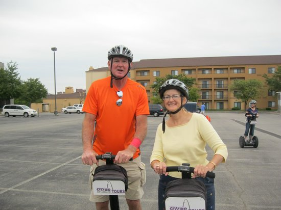 Glide St Louis Segway Tours: Practice session