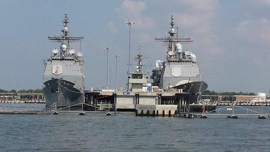 Victory Rover Naval Base Cruises : Naval base