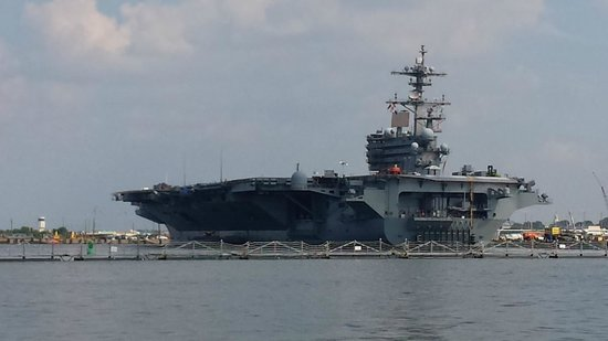 Victory Rover Naval Base Cruises: USS George Bush