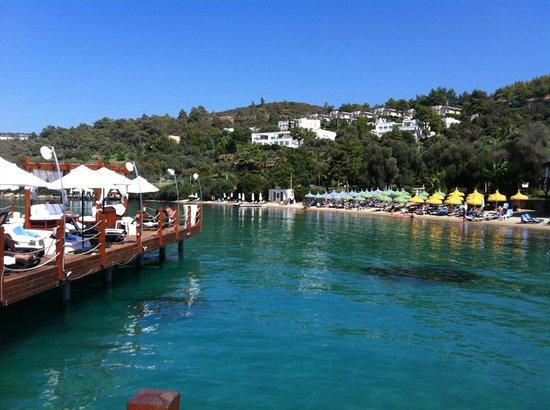 Rixos Premium Bodrum: Sun Decking and Beach Area