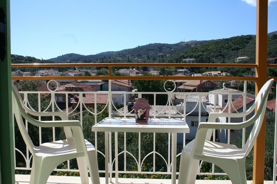Theofilos Studios & Apartments: View from our bedroom at Pagona house