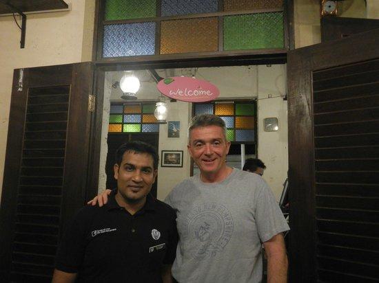 Lila Wadi Restaurant : Sherif Khan the perfect waiter