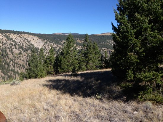 Echo Valley Ranch & Spa: on one of the horse trails