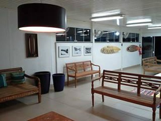 Arvore da Vida Pousada & Hostel Boutique : Sala de TV