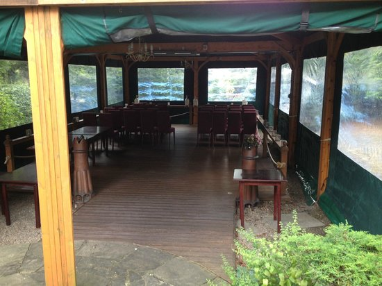 Mount Royale Hotel & Spa: outdoor functions