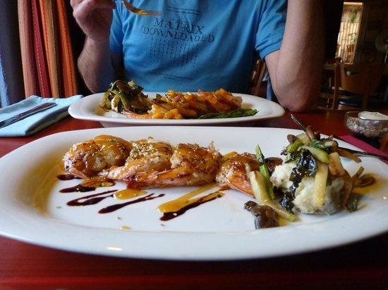 La Casita Tapas & Wine Bar: 2 porzioni di gamberoni