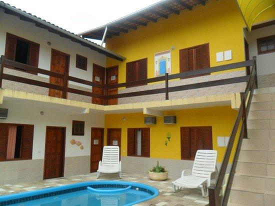 Pousada Recanto do Jabaquara : Vista Piscina e quartos