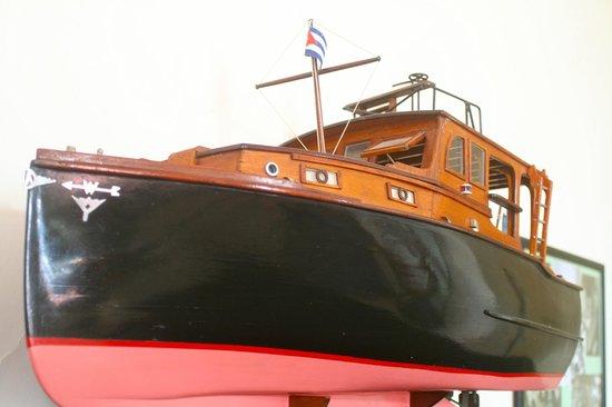 Hotel Ambos Mundos: Model of Hemmingway's Boat