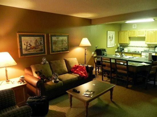 Legacy Vacation Resorts Steamboat Springs Suites: Seating Area