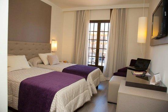 Hotel Complejo Paris: Habiación Twin Superior