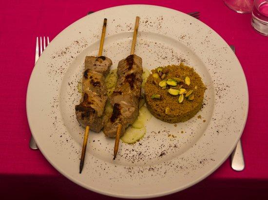 casa rosada: Tuna Kebabs