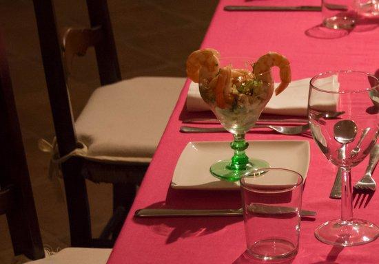 casa rosada: Prawn cocktail