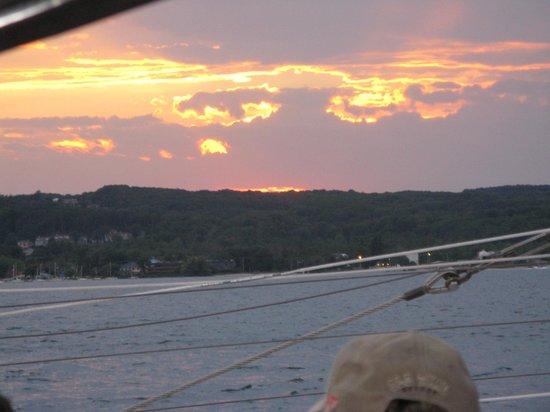 Nauti-Cat Cruises: SUNSET ON GT BAY
