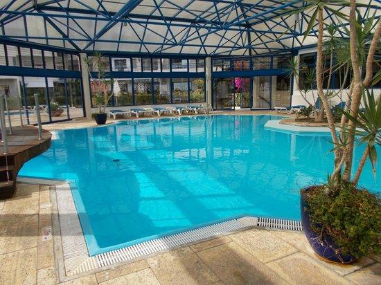 Pestana Cascais: la piscine intérieure