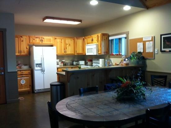 David Crockett State Park: the kitchen