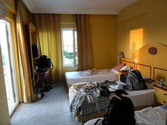 Sailor's Park Hotel : Zimmer