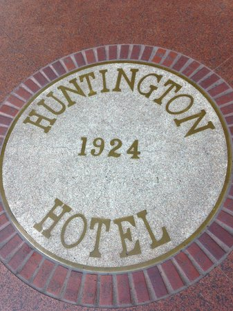 The Scarlet Huntington: In front of the hotel