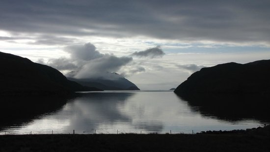 Loch Seaforth House B&B : This view is real, not CGI!
