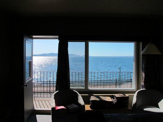 Hôtel Sept-Iles : Chambre vue mer