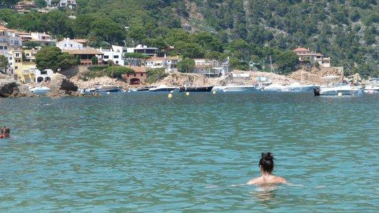 Playa de Aiguablava: Aiguablava