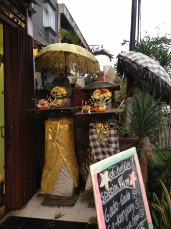 de Bali Cafe and Resto: Offerings