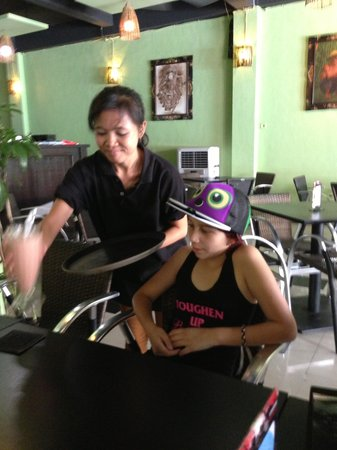de Bali Cafe and Resto: Great Staff