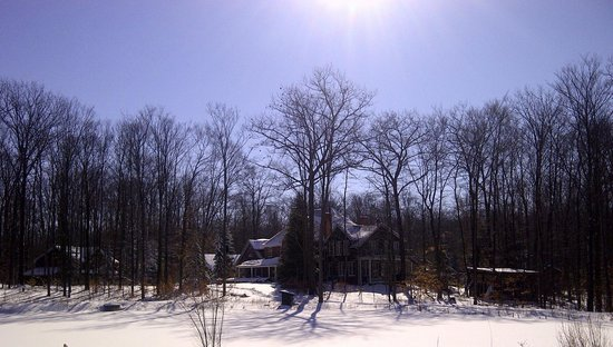 Ridgemoor B&B: Ridgemoor - Wintertime