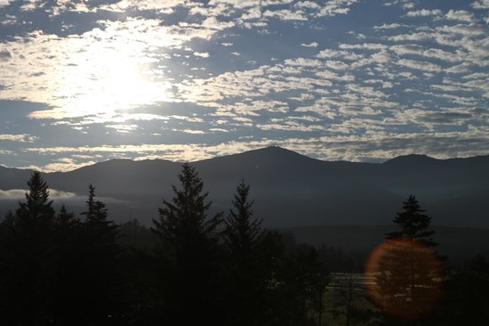 The Lodge at Bretton Woods: The view from our room - Sunrise