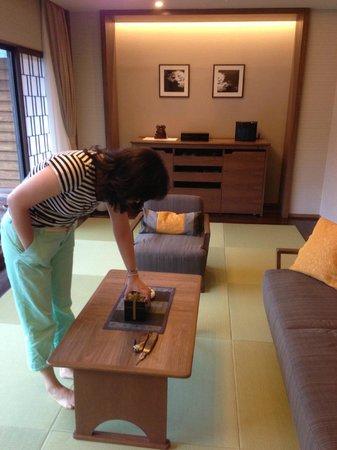 Kanaya Hotel Kinugawa: Inside the room
