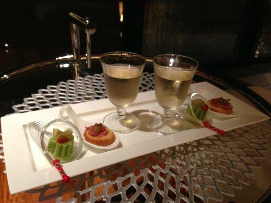 Kanaya Hotel Kinugawa: Appetizer